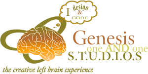 Genesis One and One Studios logo